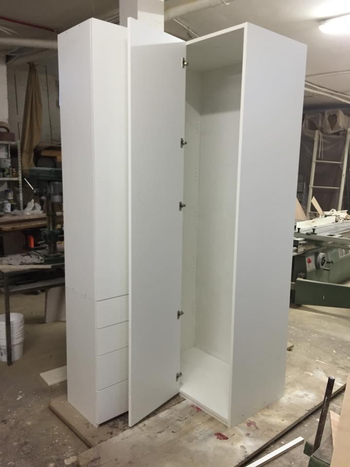 Cabina armadio disimpegno bagno wood design milano - Cabina armadio con bagno ...